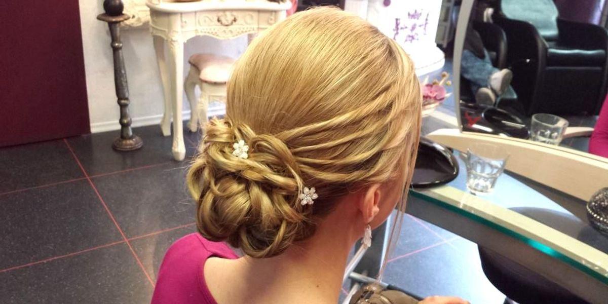 Perfekte Brautfrisur Make Up Top Friseur Hair Affair Balingen